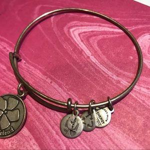 Alex and Ani Jewelry - Alex and Ani Friend Bangle Bracelet - Silver
